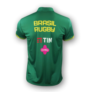 Camisa Polo Brasil Rugby Tupis