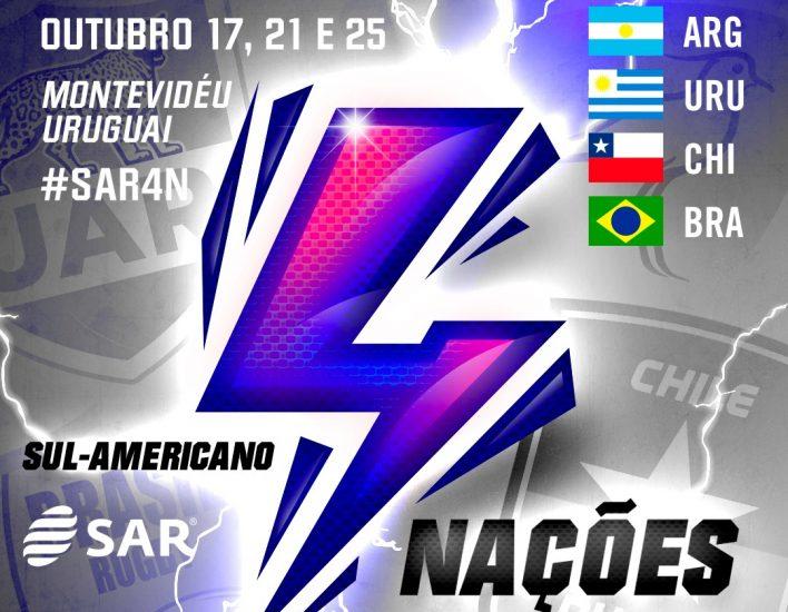 Sul-Americano 4 Naciones ocorrerá em outubro