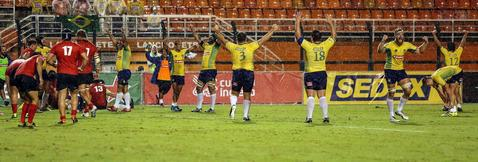 Brasil vence o Chile na estreia do Americas Rugby Championship