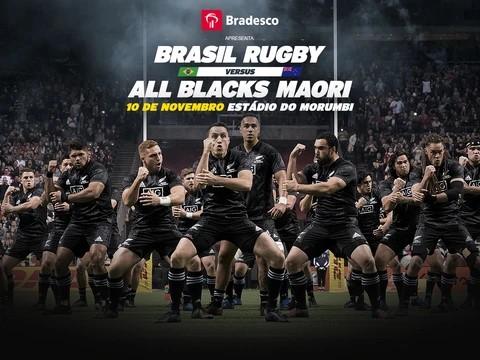 Seleção Brasileira de Rugby receberá All Blacks Maori no Morumbi. Pré-venda de ingressos inicia dia 20 de agosto
