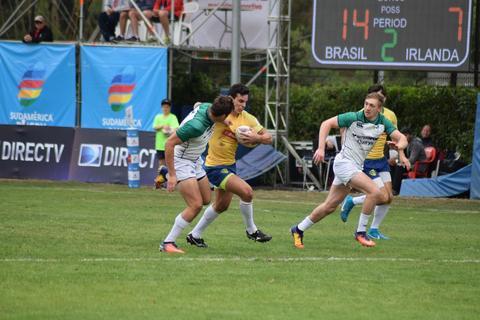 Brasil fecha o Circuito Sul-Americano de Sevens Masculino em oitavo lugar