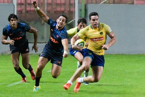 Em Belo Horizonte, Brasil é superado pela Argentina, que levanta o título Sul-Americano de Rugby XV