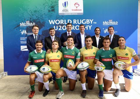 World Rugby anuncia abertura oficial do Campeonato Juvenil de Rugby em evento no Palácio dos Bandeirantes