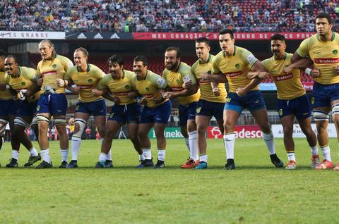 Em noite histórica, Brasil Rugby tem recorde de público contra All Blacks Maori no Morumbi