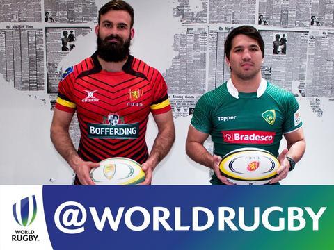 Brasil encara a Bélgica no rugby XV