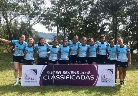 SPAC, DELTA (PI), DESTERRO (SC) e MELINA (MT) garantem vaga fixa no Super Sevens Feminino 2018