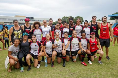 Niterói (RJ) vence etapa de São José dos Campos e assume a liderança do Super Sevens Feminino