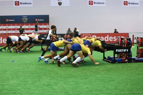 Brasil Rugby versus Arnold Schwarzenegger: desafio de scrum em dose dupla