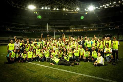 Inscreva-se no programa de voluntário para as próximas partidas dos Tupis no Brasil