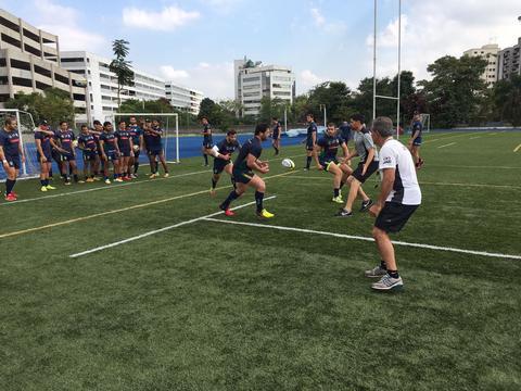 Tupis realizam segundo camp para o Sul-Americano de Rugby XV