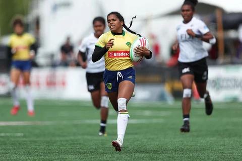 Yaras terminam etapa da Série Mundial de Sevens em 12º lugar, mas são exaltadas pela World Rugby