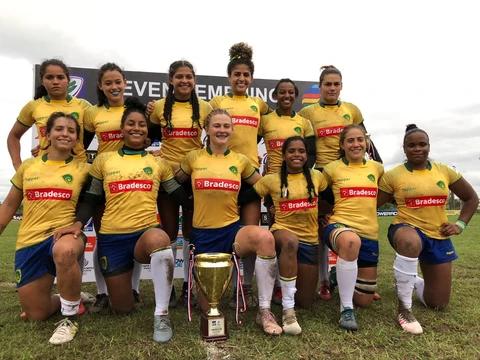 Seleção Brasileira Feminina de Rugby Sevens é campeã Sul-Americana pela 15ª vez