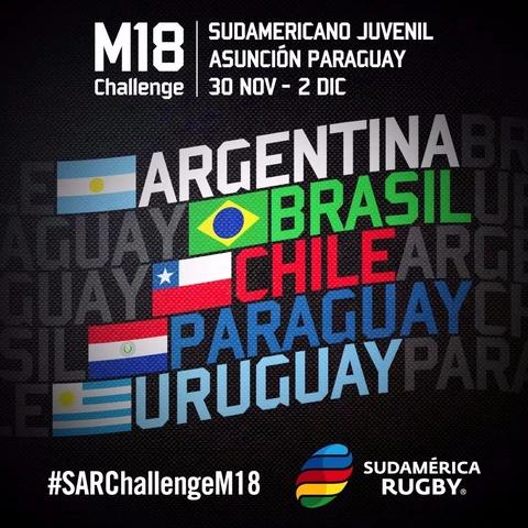 Novo campeonato Sul-Americano M18 tem início dia 30/11