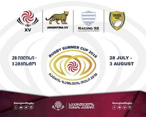 Seleção Brasileira de rugby XV é convidada para participar de torneio na Europa