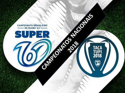 Brasil Rugby lança novos hotsites para o Super 16 e Taça Tupi 2018