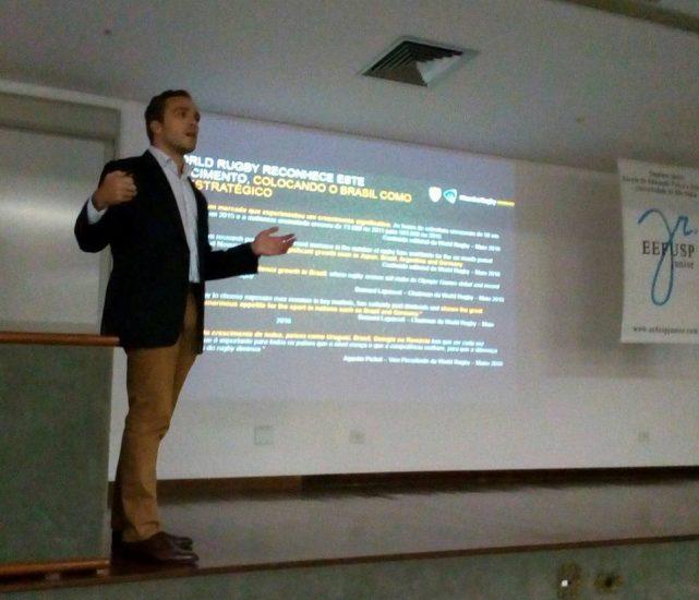 CEO da CBRu Realiza Palestra no 3º Workshop de Marketing Esportivo da USP
