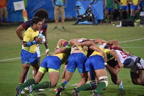 Brasil estreia no rugby masculino com casa cheia