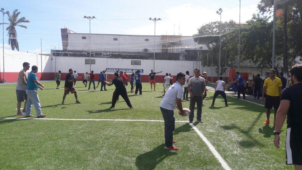 Educadores Participam de Treinamento de Rugby em Macapá
