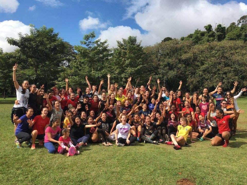 THINK OLGA Promove Aulas Abertas para Mulheres com Seleção Feminina de Rugby