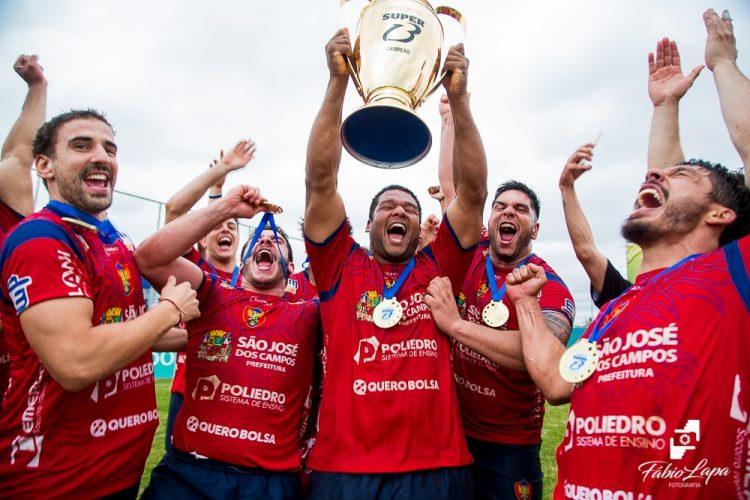 São José é campeão brasileiro de Rugby pela décima vez