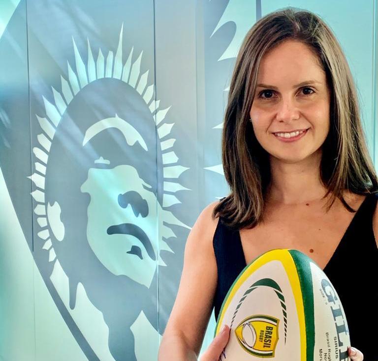 Confederação Brasileira de Rugby anuncia nova CEO