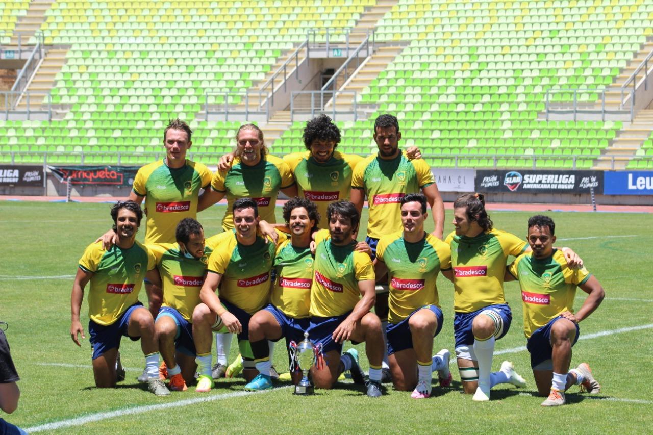Tupis 7s fazem história com vitória sobre equipe principal dos Pumas 7s na primeira fase do Sul-Americano de Sevens