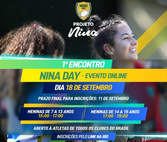 Primeiro 'Nina Day' busca reunir meninas praticantes de rugby de todo país